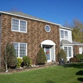 Brickslips on residential properties
