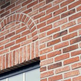 Brickslips and brick cladding