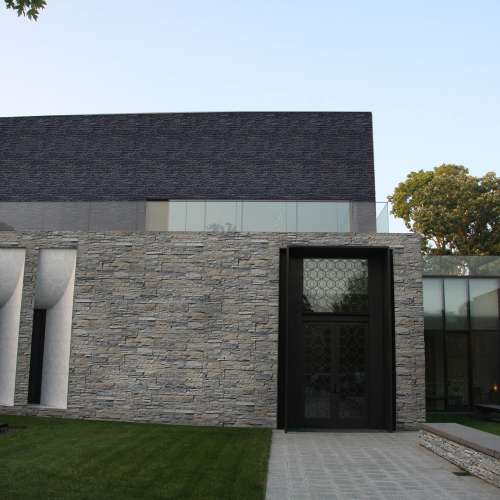 Exterior DecoStone Andes range in Grey