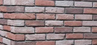 Heritage Redwood Brick Slips and Brick Cladding