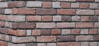 Tudor Redwood Brick Slips and Brick Cladding