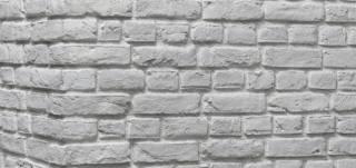 Tudor Snow Brick Slips and Brick Cladding