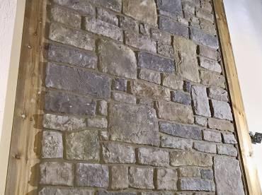 Limestone Grey-Blue interior wall