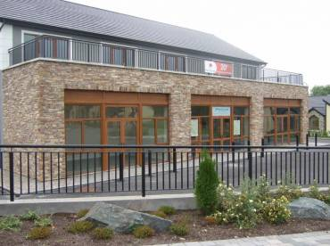 Commercial frontage using Cliffstone cladding