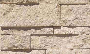 Eldorado Coarse Cut Stone in the Oyster profile (125)