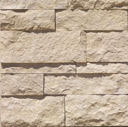 Eldorado Coarse Cut Stone in the Oyster profile