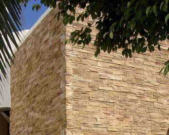 Large external corner wall