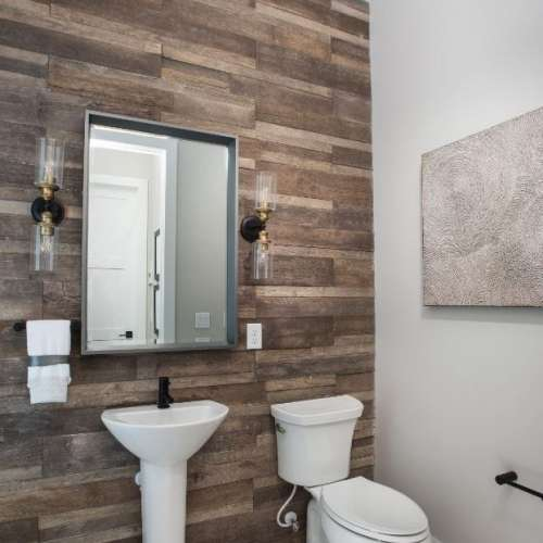 Saddlewood renewable home bathroom