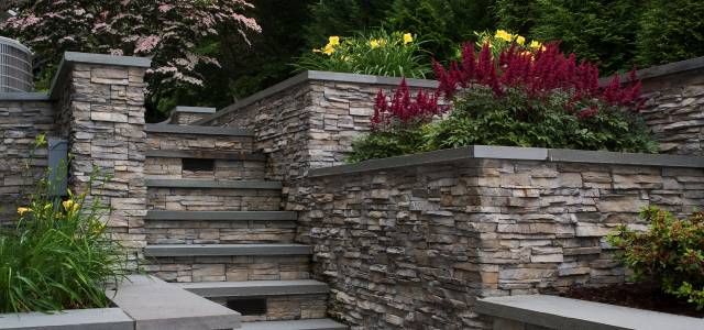 Es Stacked Stone Nantucket Exterior Outdoor Spaces Carr Residence 7