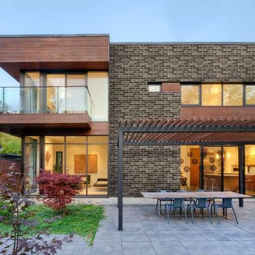 Building Exterior DecoStone DecoBricks range in Brown