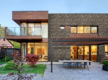 Building Exterior DecoStone DecoBricks range in Brown
