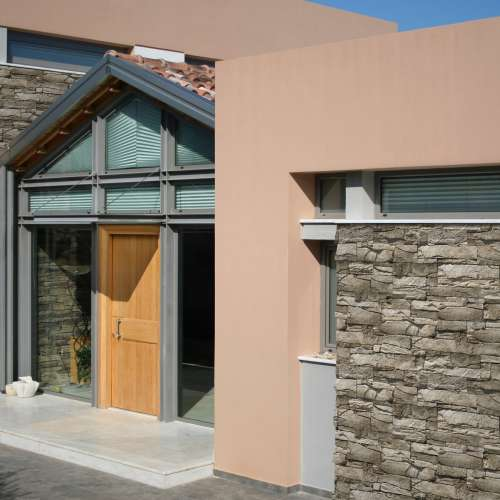 Building Exterior DecoStone Vivid range in Olive