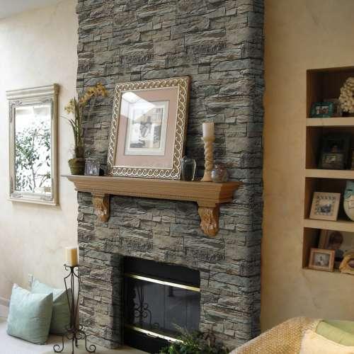 Interior Fireplace DecoStone Vivid range in Beige