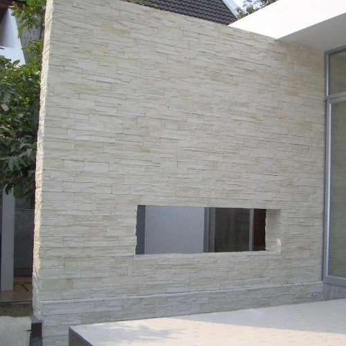 Building Exterior DecoStone Ardennes range in Cream